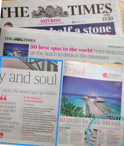 Front Page Saturday Times Travel
