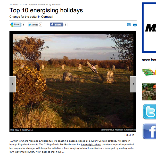 Top 10 Energising Holidays MSNExtra